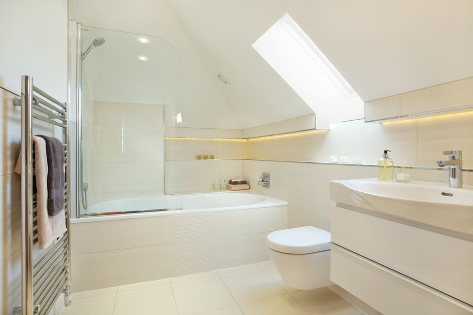 guests attic bathroom
