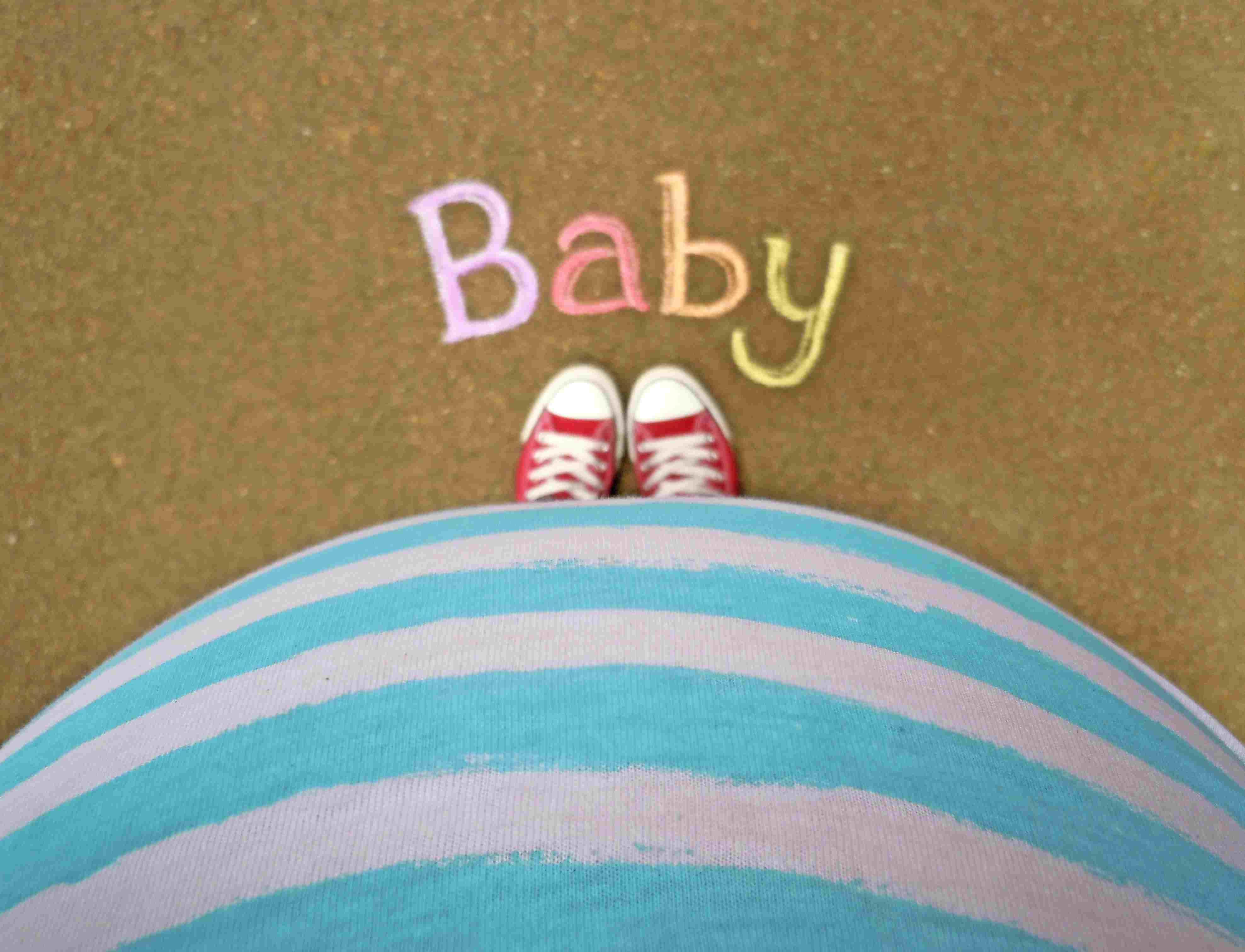 Desapareciendo pies embarazadas