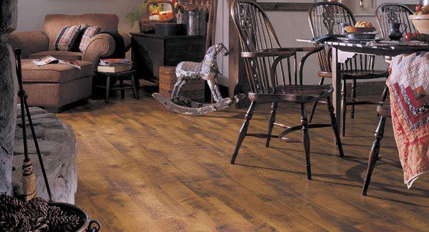 piso laminado de antigüedades