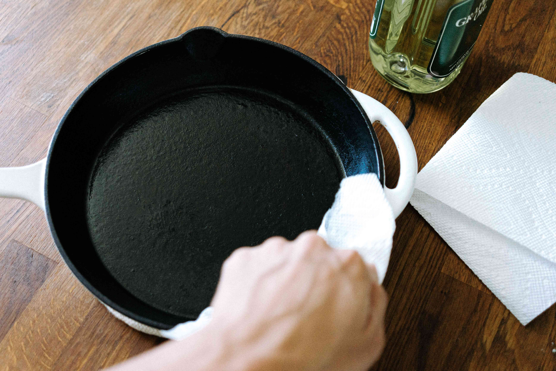reseasoning cast iron
