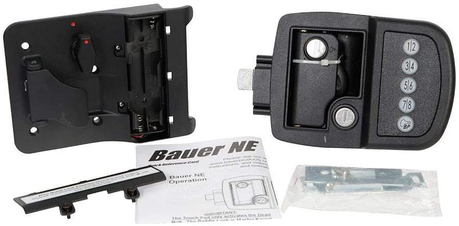 AP Products Electric Travel Trailer Lock