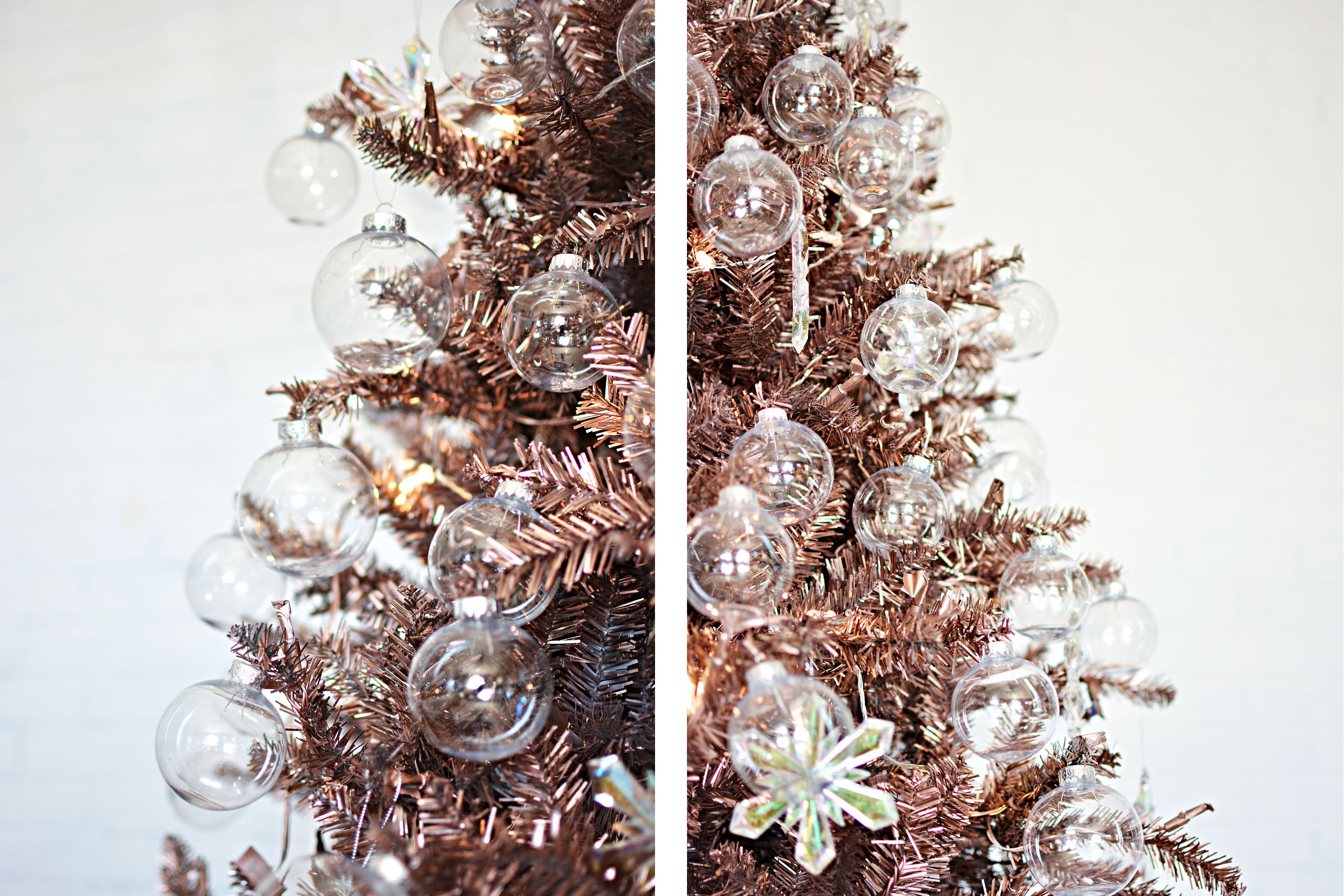 33 festive fresh ways to decorate your christmas tree - Christmas Tree Branch Decorations
