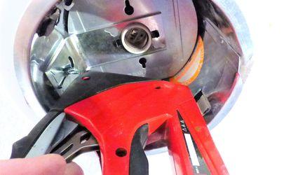 Staple Gun Fixing Recessed Light