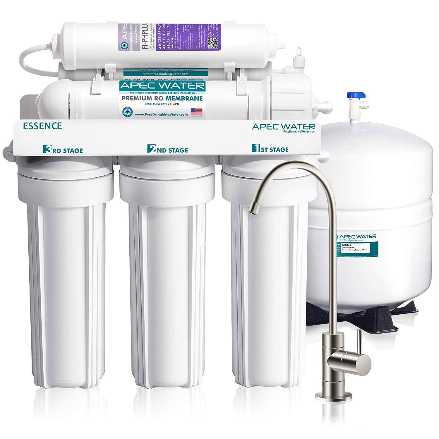 APEC Ultimate 6-Stage Reverse Osmosis Water Filter System