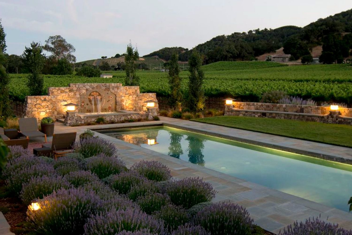 25 beautiful mediterranean pool designs for Pool design ideas