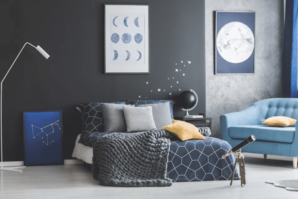 space-themed room