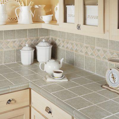Ceramic travertine tile