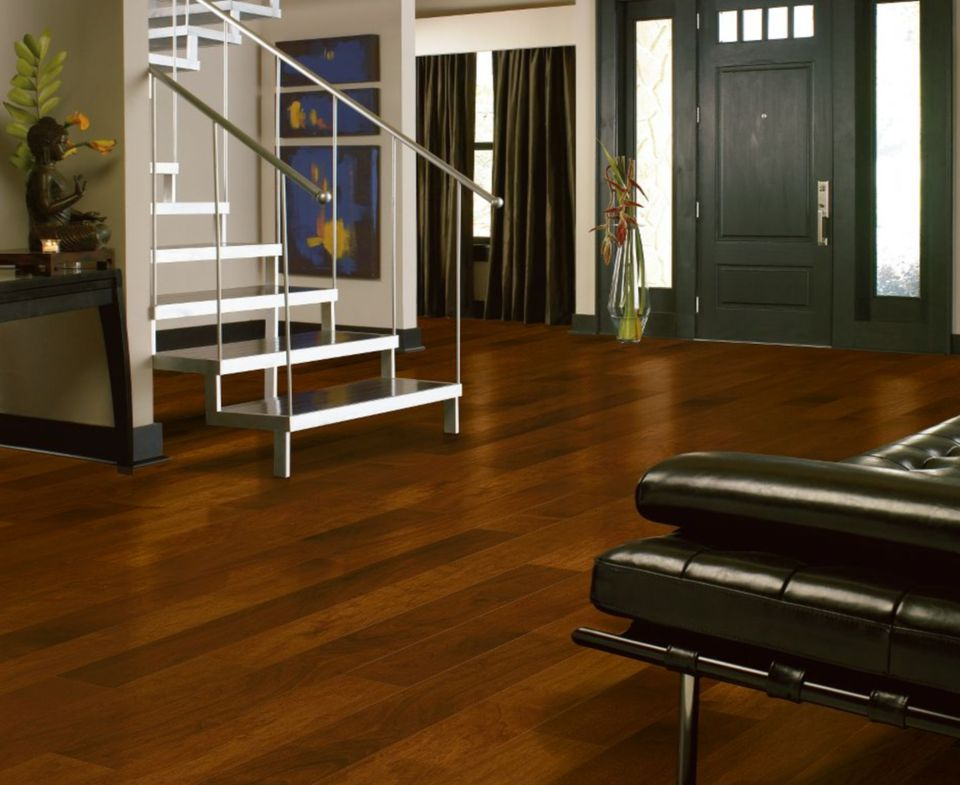 Bruce Lock and Fold Walnut Flooring