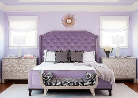 Purple Bedrooms Tips And Decorating Ideas New Romantic Bedroom Paint Colors Ideas Concept