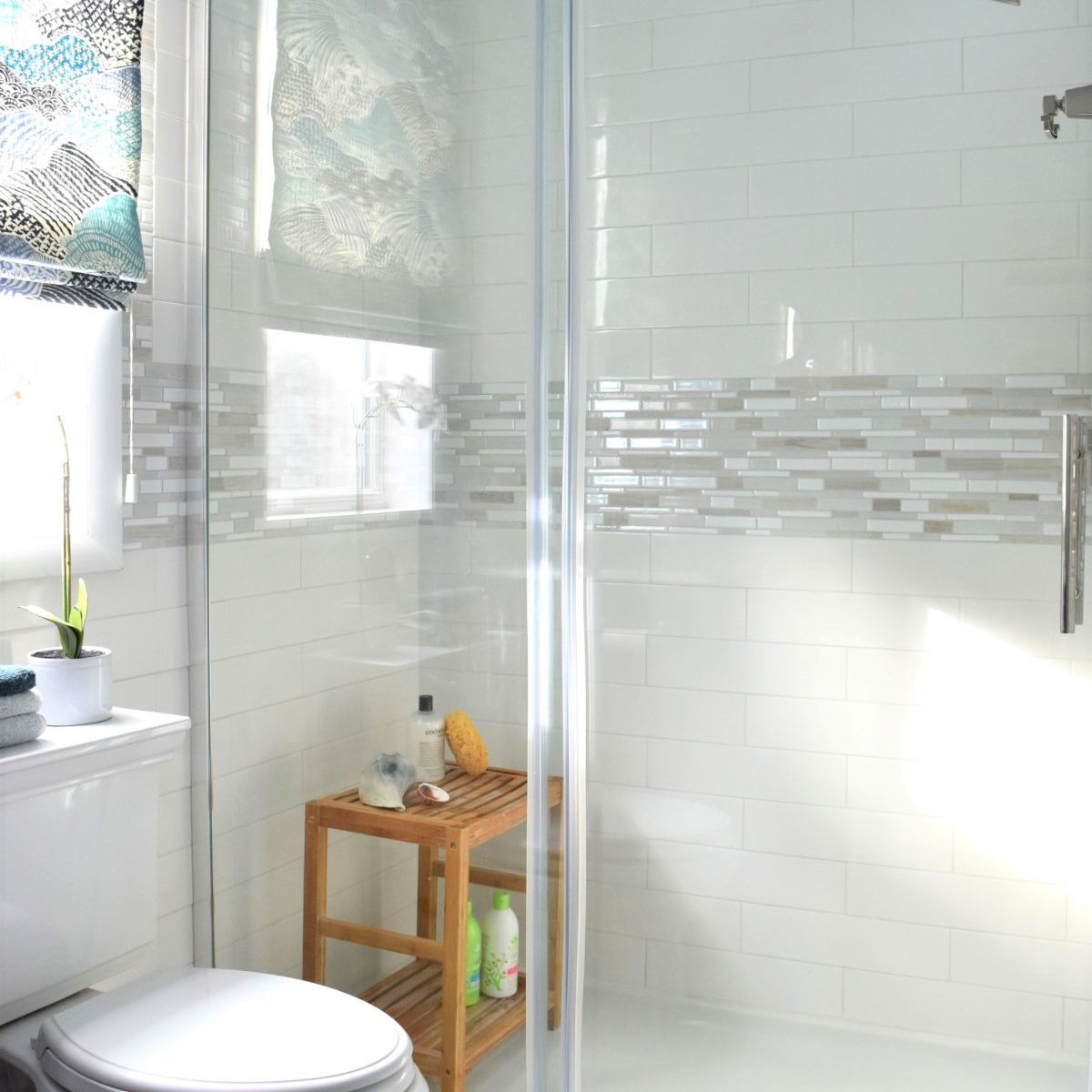 Large Frameless Remodeled Shower