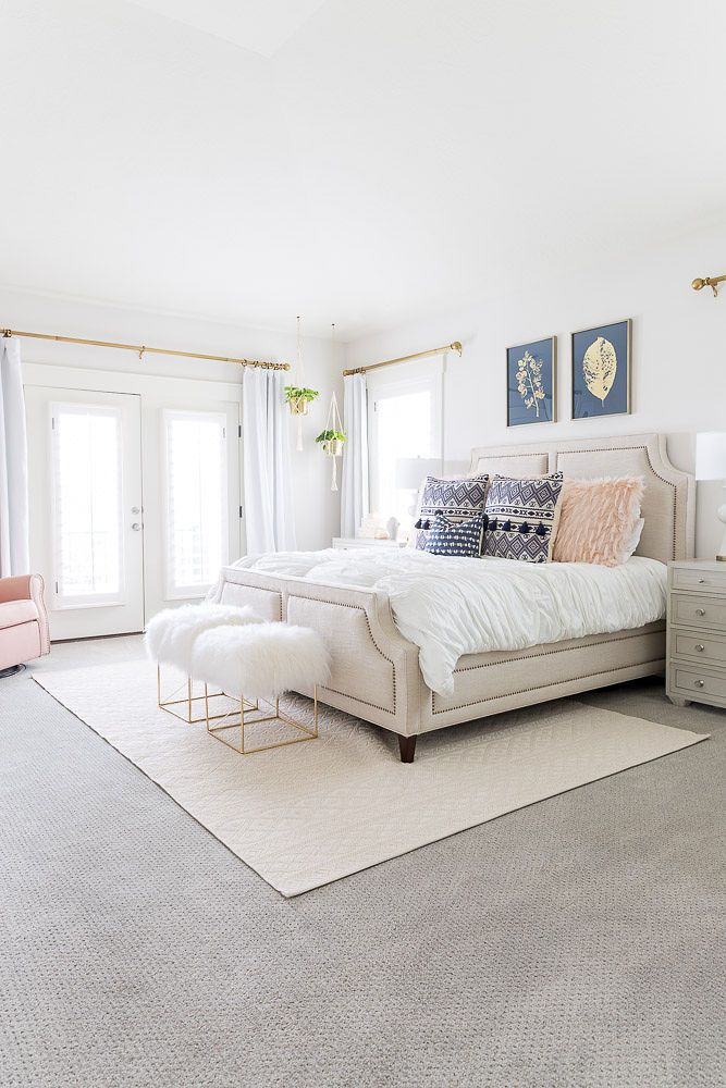 Jenica Parcell bedroom