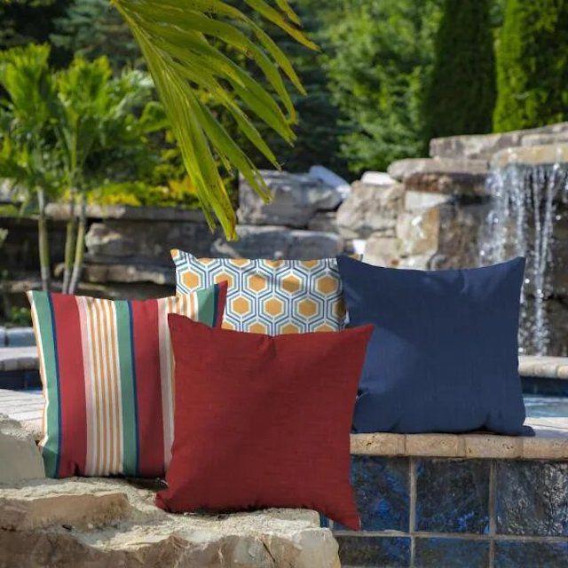 Arden Selections Leala Outdoor Throw Pillows