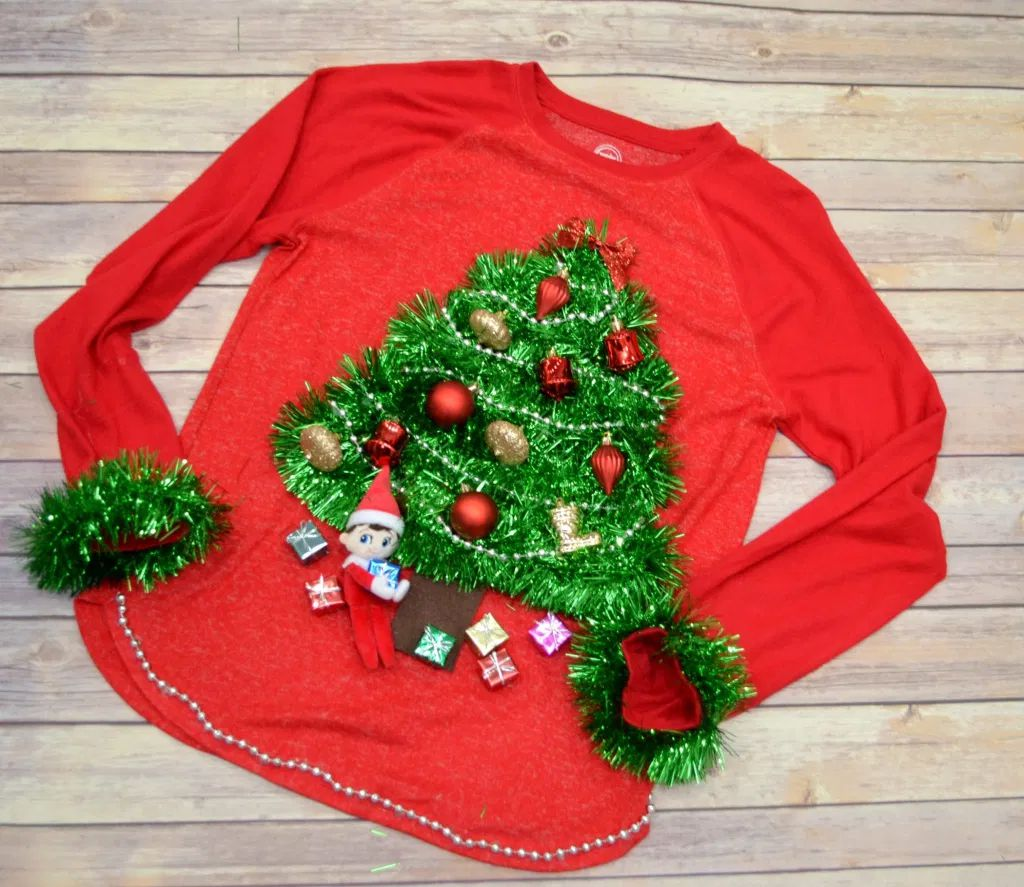 11 DIY Ugly Christmas Sweater Ideas