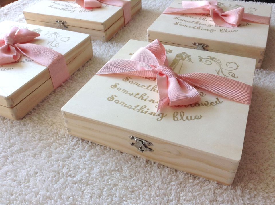 Bridesmaids Cigar Box