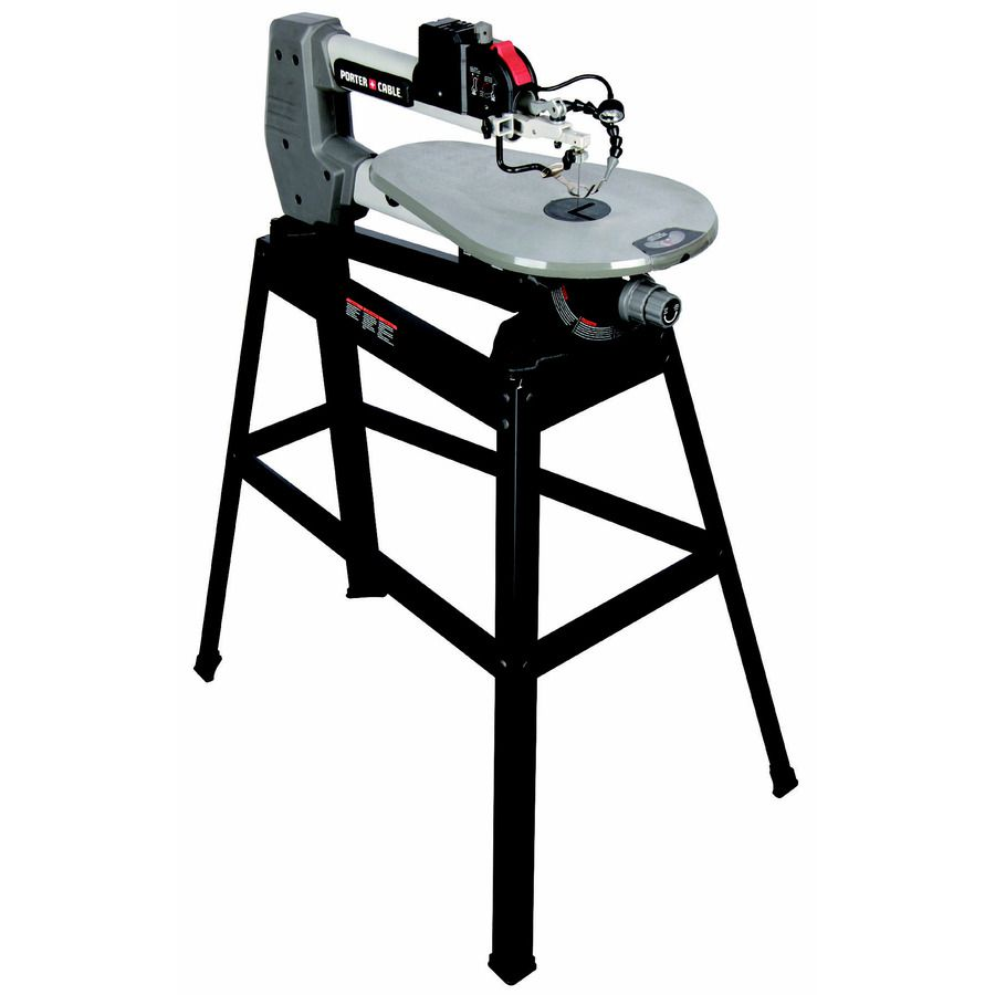 Porter-Cable 18-in Variable Speed Scroll Saw with Stand