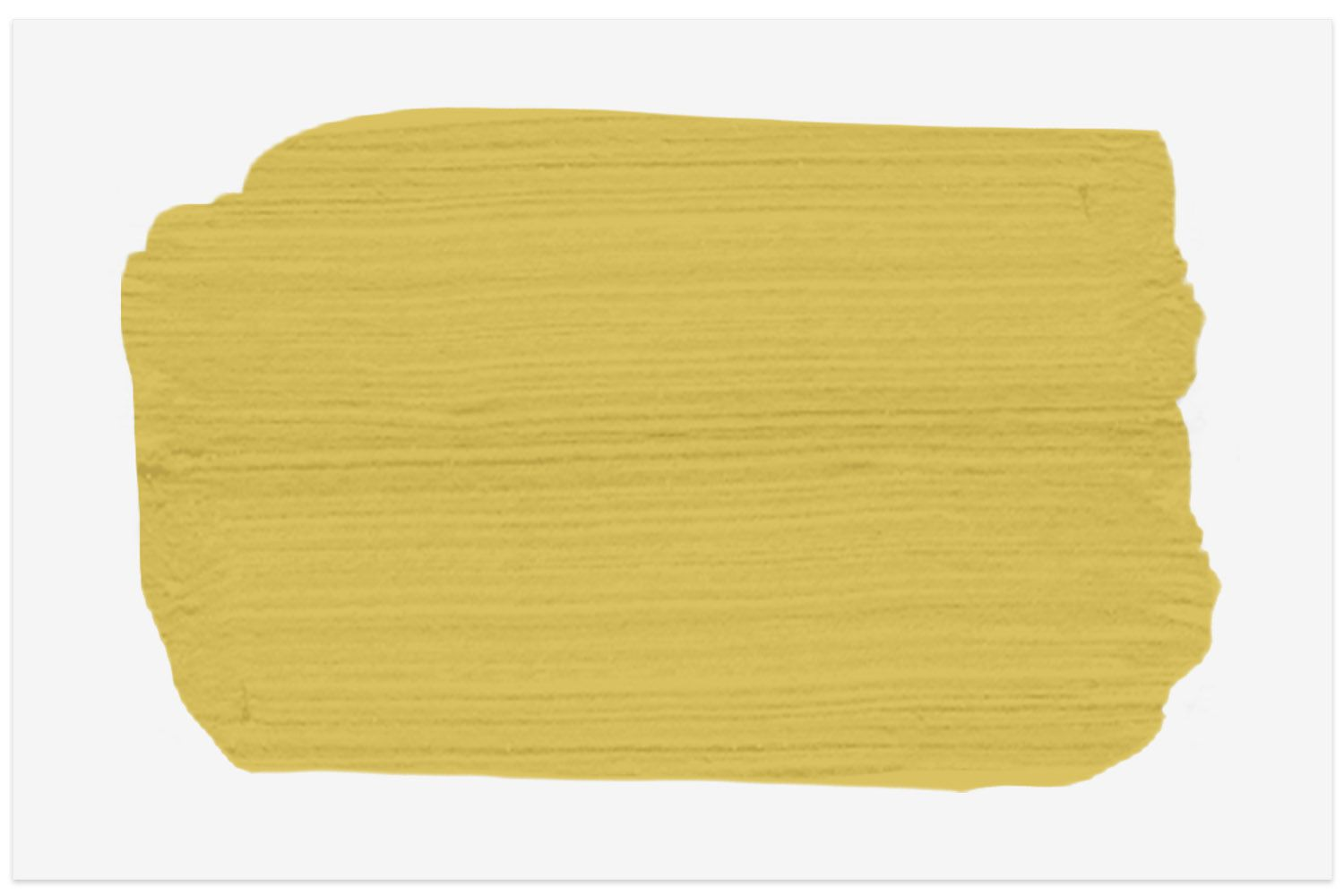 Yellow Mustard Colonial Farmhouse paint swatch