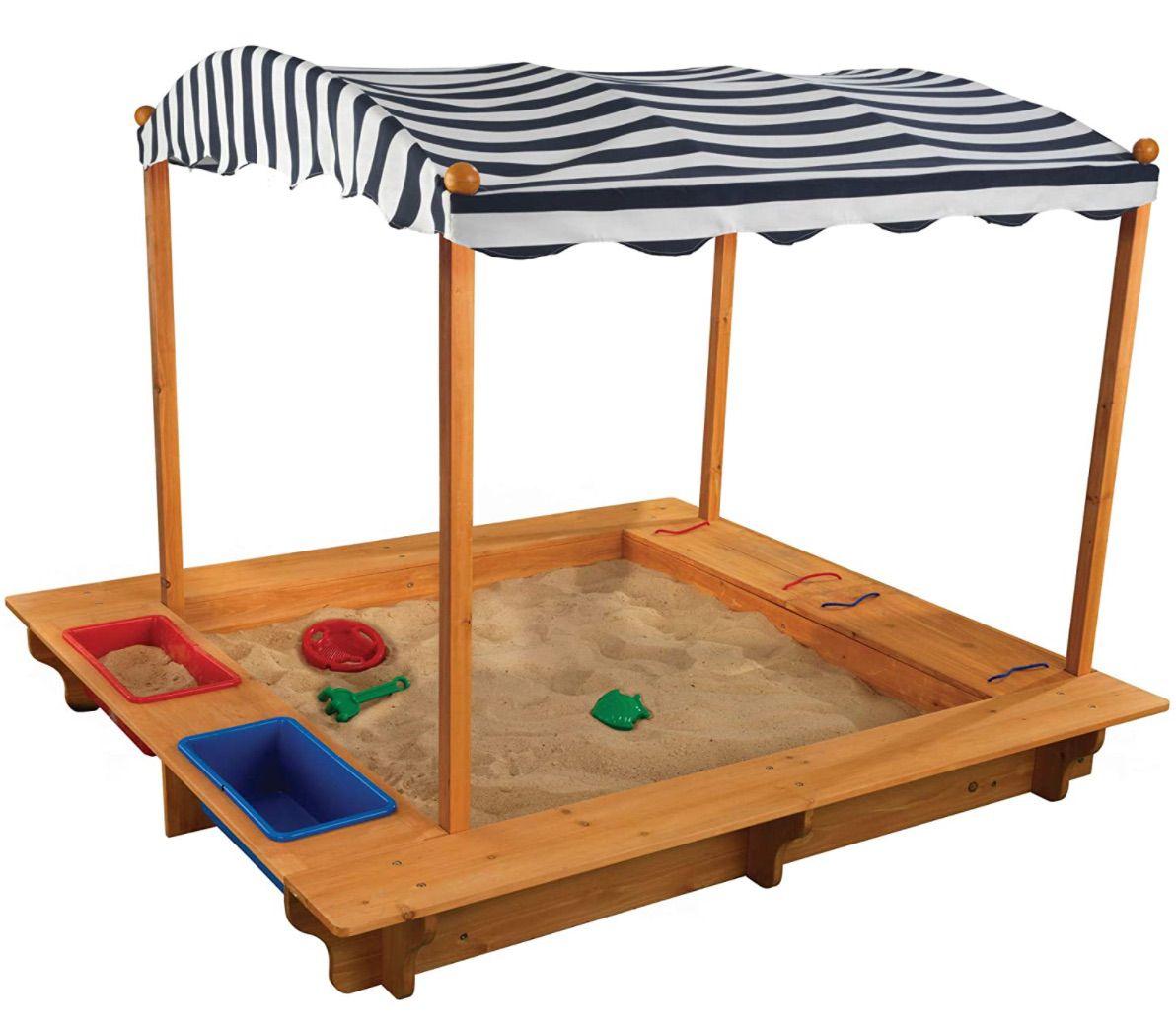 Kidcraft Activity Sandbox with Canopy