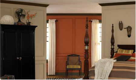 Bedroom Colors Orange bedroom paint colors - 15 palettes you can use