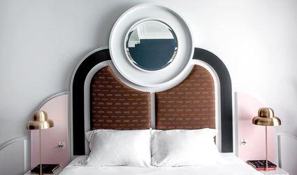 Art Deco-inspired bedrooms