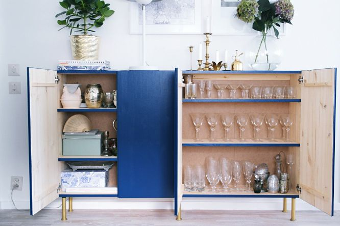 Low Credenza Ikea : Best ikea ivar storage hacks
