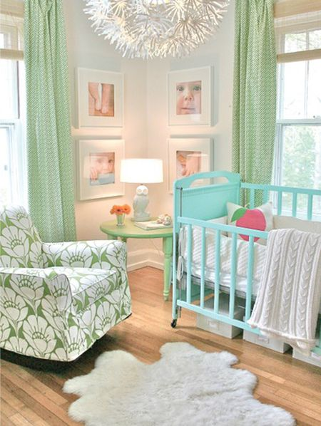 Mint Green And Blue Nursery Project