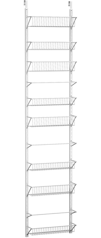 Home-Complete Over-the-Door Spice Rack
