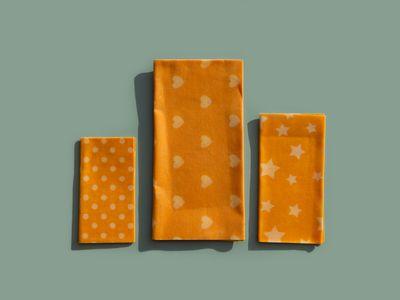 Reusable DIY beeswax wraps