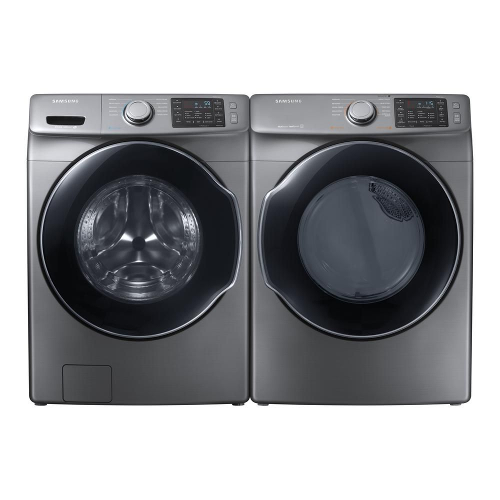 Test Results Samsung Wf45m5500ap Washer And Dve45m5500p Dryer With Steam Best Overall