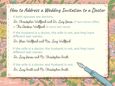 How To Address Your Wedding Invitations