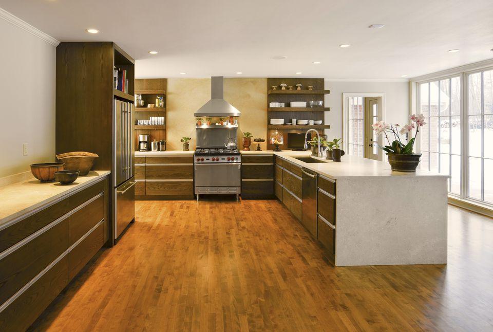 Cost Of Adding Hard Wood Kitchen