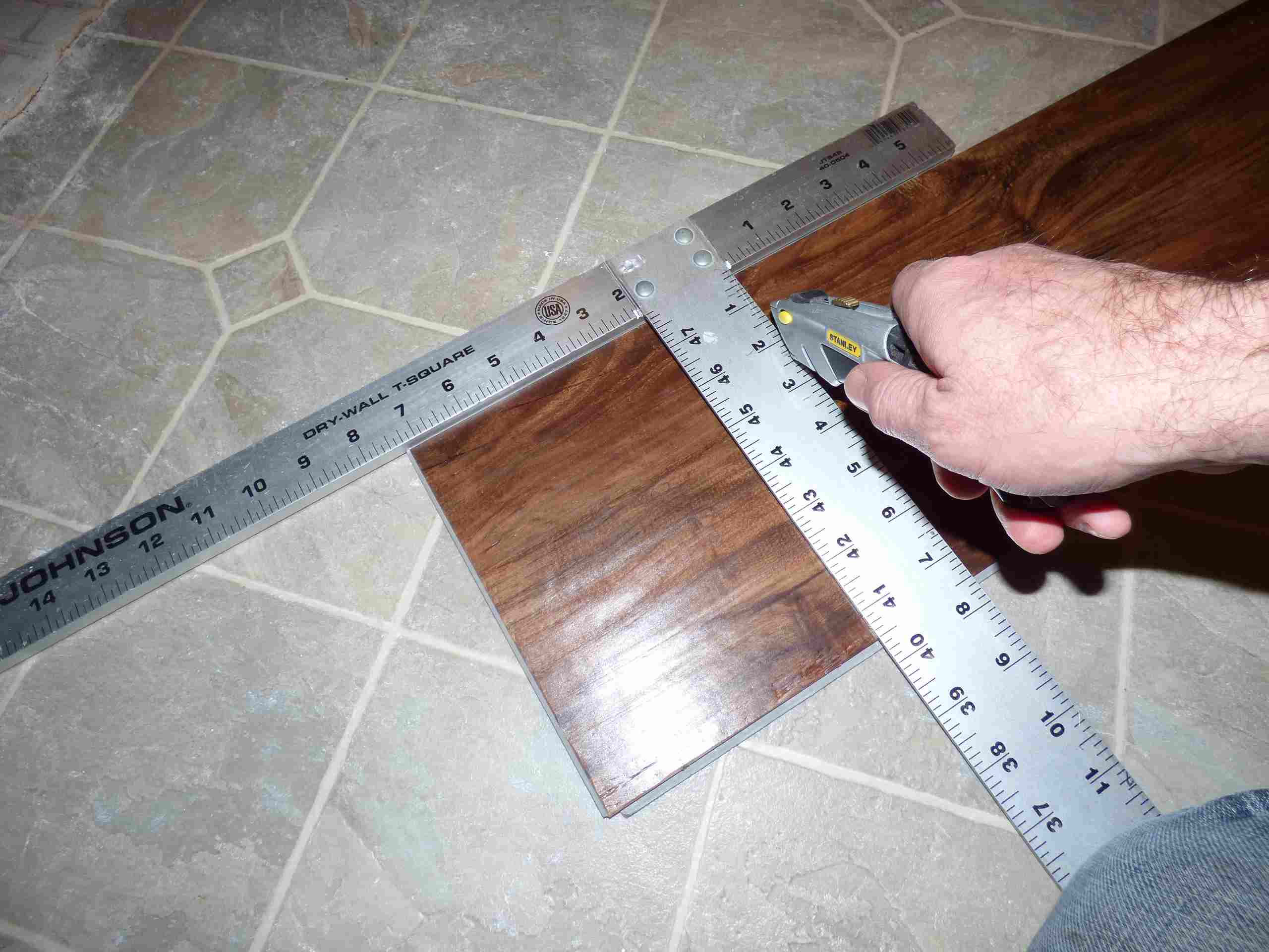 Its Easy And Fast To Install Plank Vinyl Flooring - How to measure for vinyl plank flooring