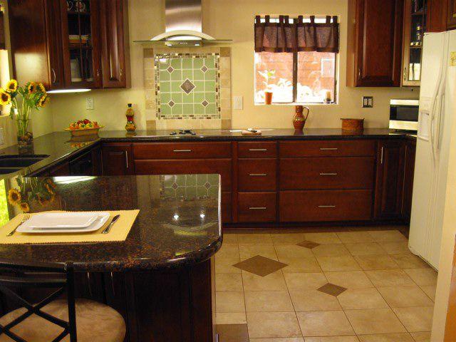imagen de piso de baldosas de cerámica de color beige