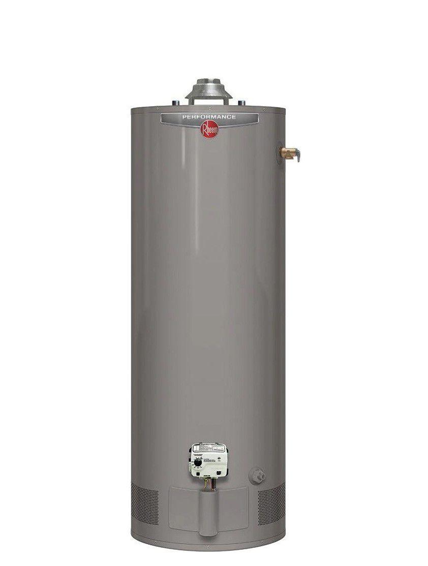 Rheem Performance Power Vent Natural Gas Tank Water Heater