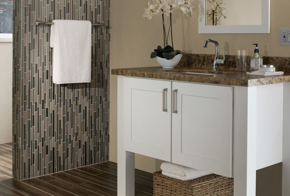 Great Bathroom Tile Ideas - 7 x6 bathroom design