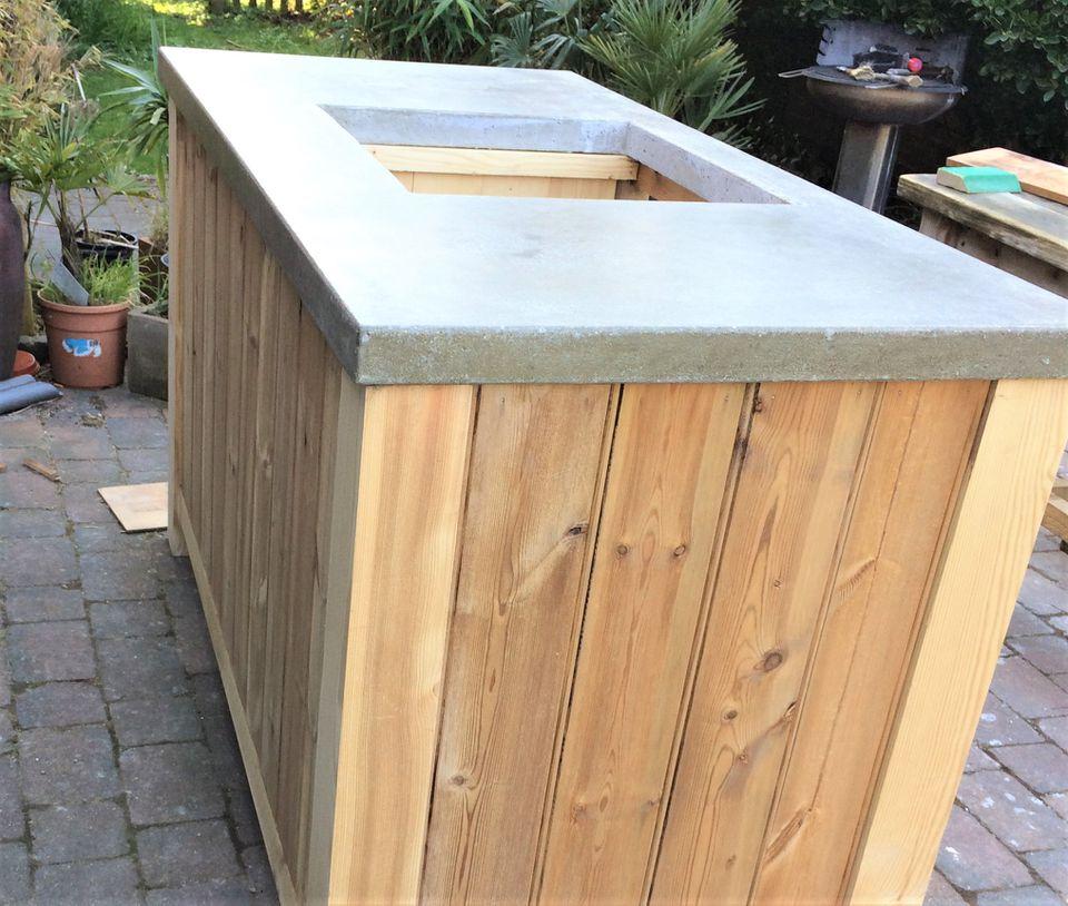 Do-It-Yourself Concrete Countertop