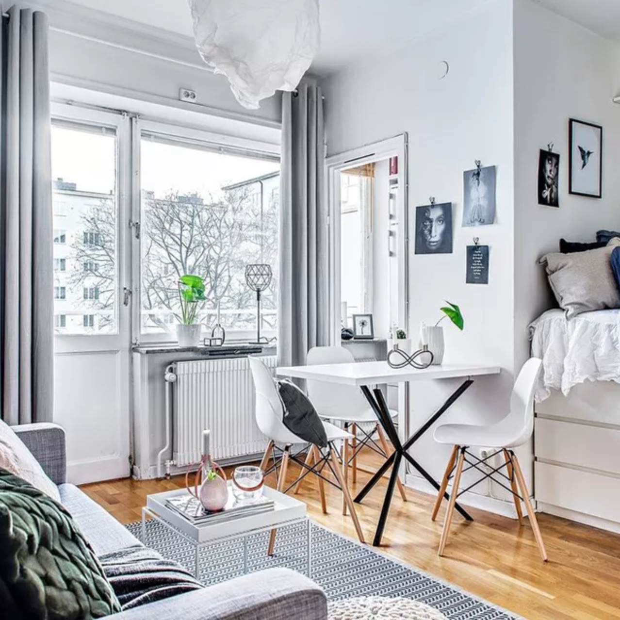 19 Perfect Studio Apartment Layouts That Work