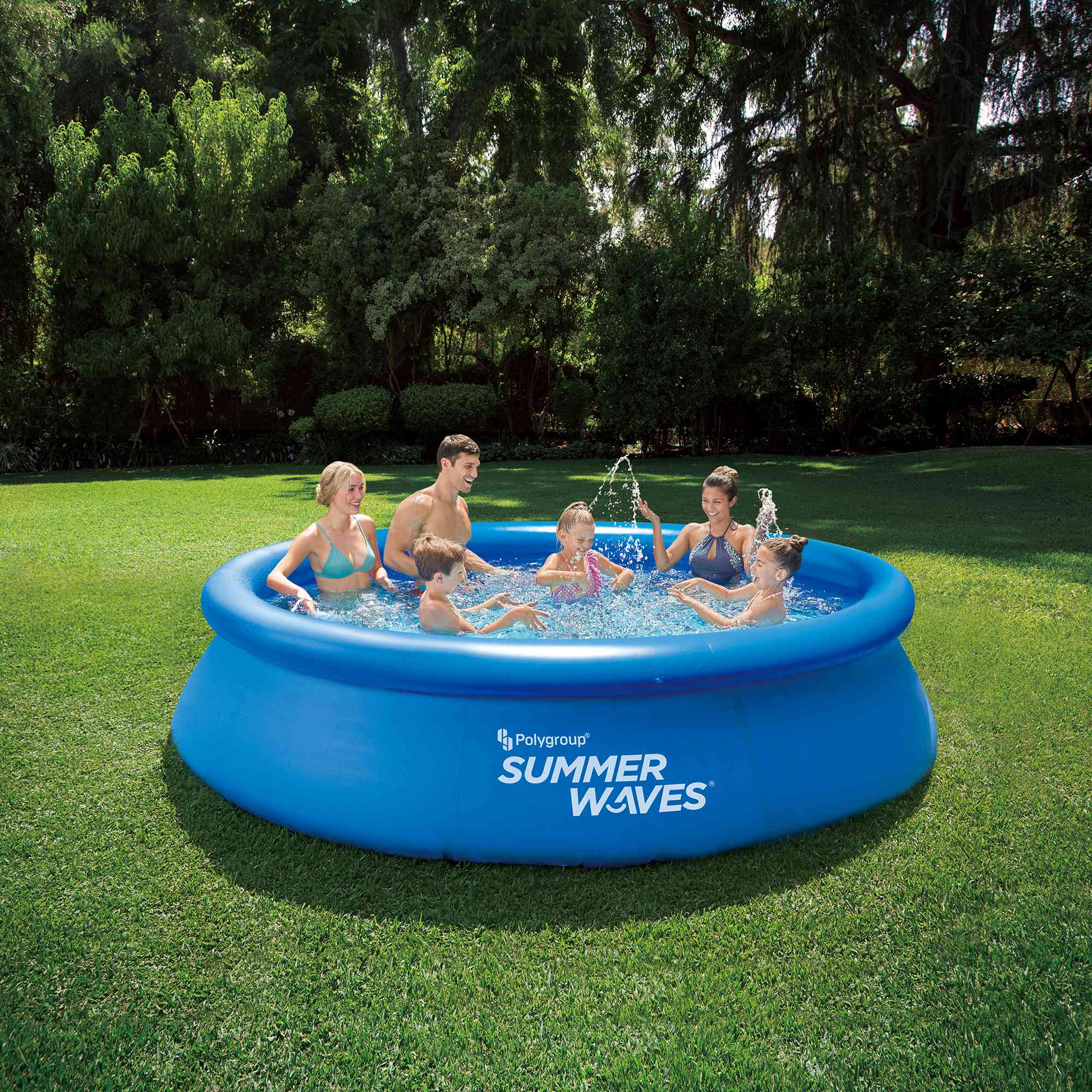Summer Waves Quick Set Above Ground Swimming Pool