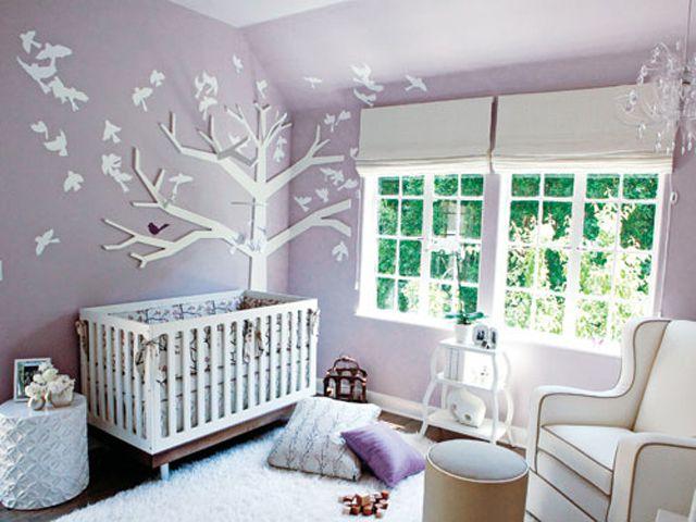 Decorating A Purple Nursery