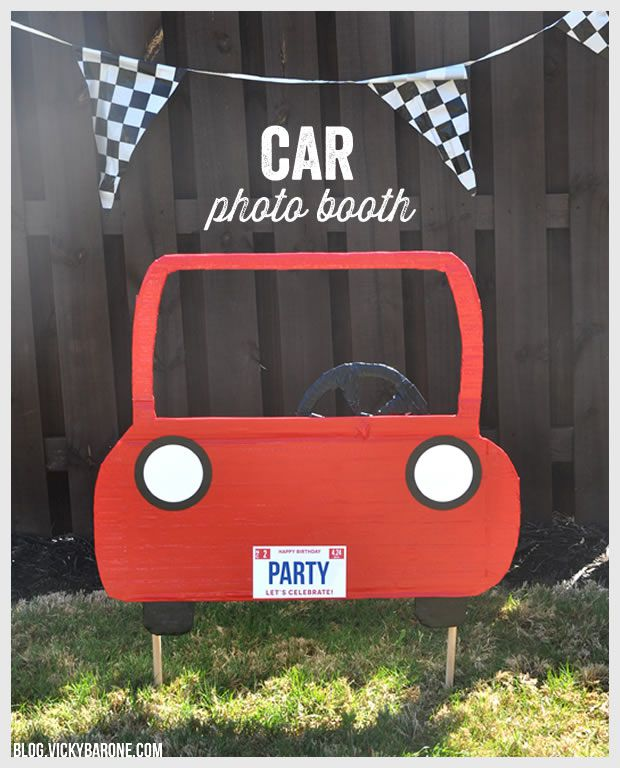 Photo Booth And Backdrop Ideas For Kids Parties