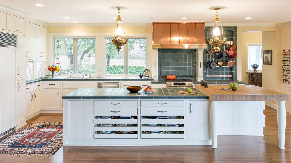 12 Tile Kitchen Countertops That Are Surprisingly Fresh