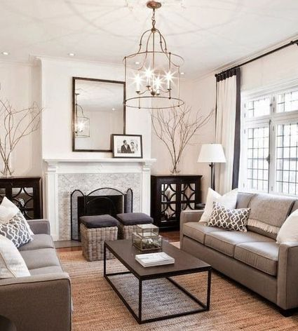 Beautiful Gray Living Room Ideas