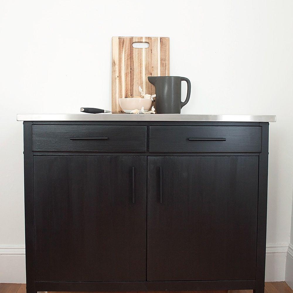 DIY Kitchen Storage Cart