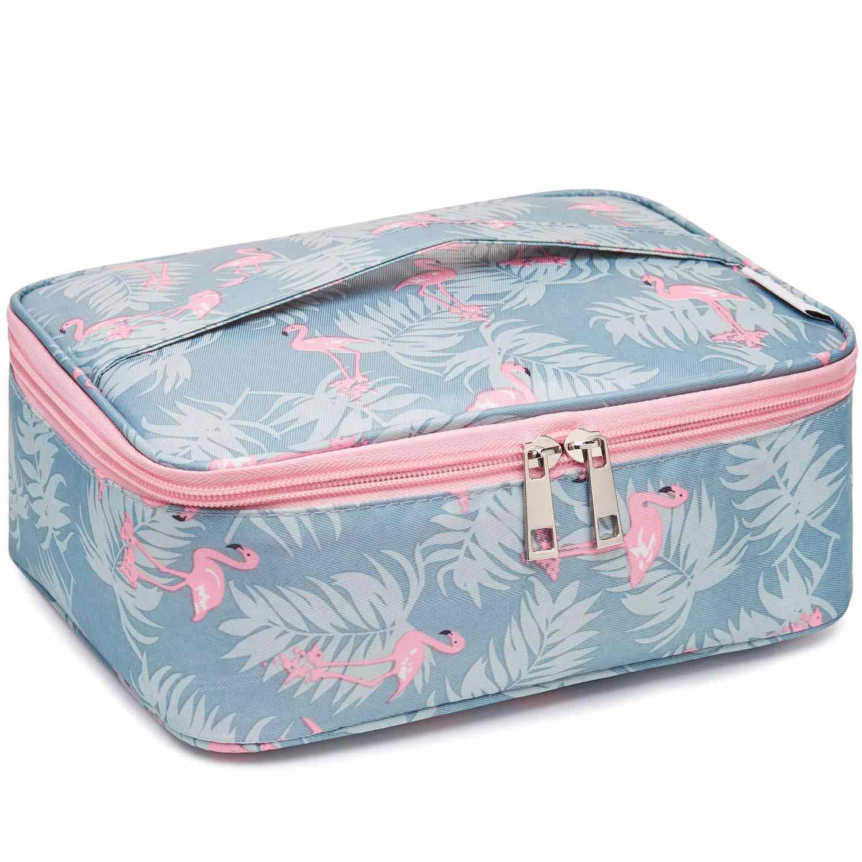 Travel Makeup Bag Large Cosmetic Bag Makeup Case