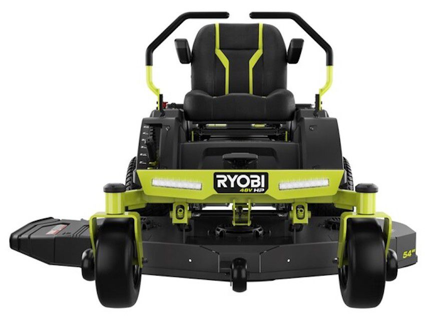 RYOBI Electric Riding Zero Turn Mower