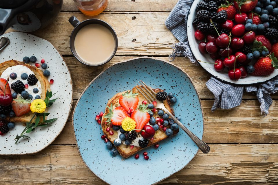 Breakfast brunch tablescape