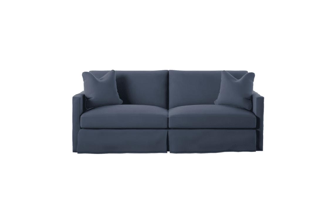 Best Budget Customizable Madison Slipcover Sofa