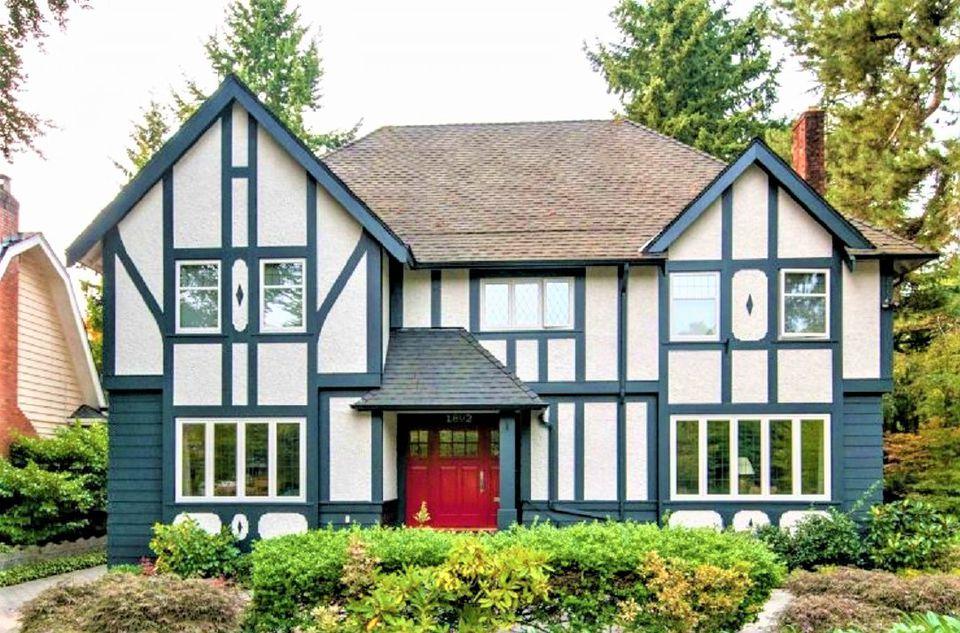 Tudor Style Homes Paint Colors Mycoffeepot Org