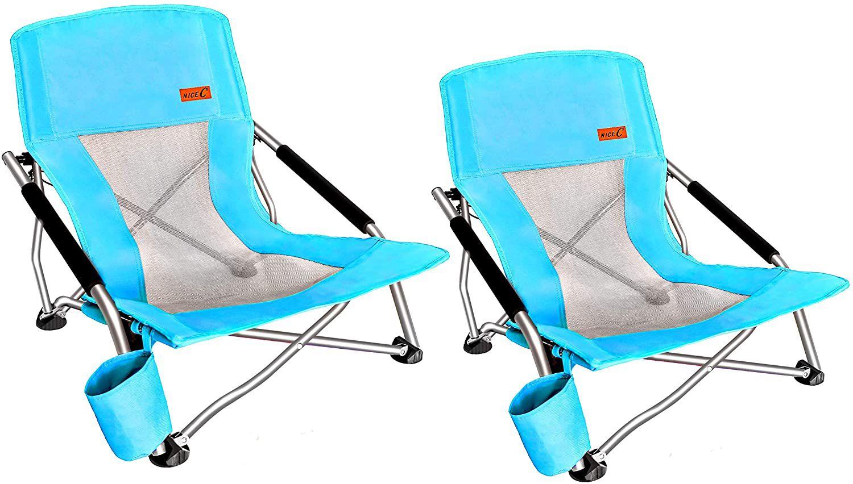 Nice C Low Beach Folding Chair