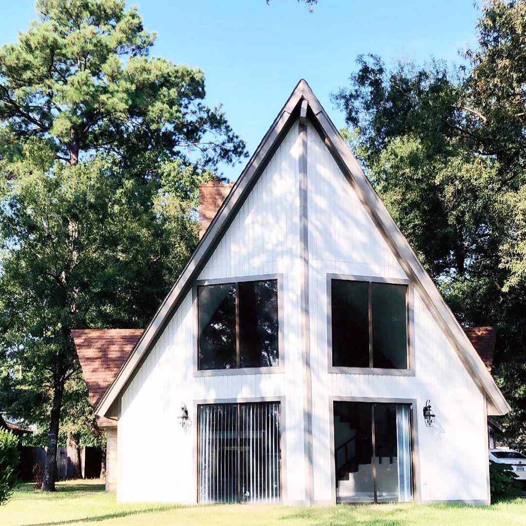 Casa de marco blanco