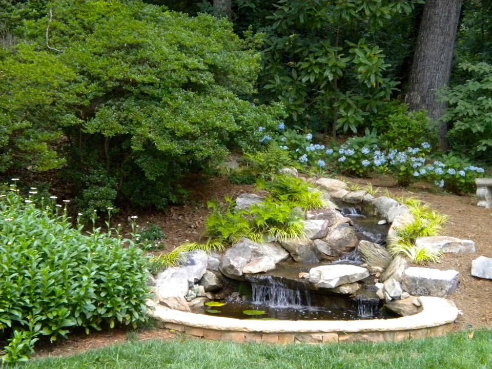 25 Pond Waterfall Designs and Ideas on Small Pond Waterfall Ideas id=47501